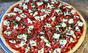 La Piazza Ristorante & Pizzeria Italiano: Italian Food for Two or Four at La Piazza Ristorante & Pizzeria Italiano (Up to 46% Off). Four Options Available.