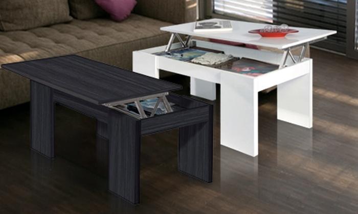 h henverstellbarer couchtisch groupon goods. Black Bedroom Furniture Sets. Home Design Ideas