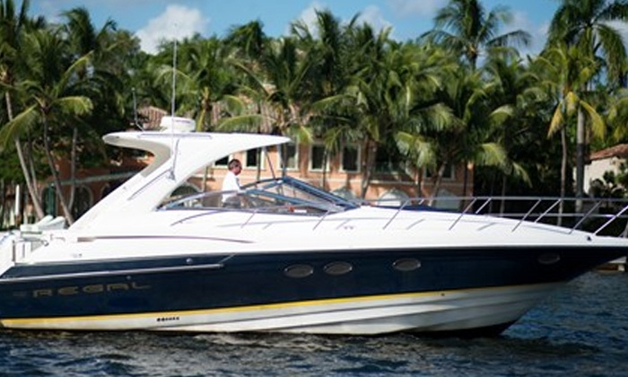 Lauderdale Yacht Charters - Fort Lauderdale: $995 for a Four-Hour Yacht Rental for Up to 12 from Lauderdale Yacht Charters ($1,800 Value)