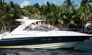 Lauderdale Yacht Charters: $995 for a Four-Hour Yacht Rental for Up to 12 from Lauderdale Yacht Charters ($1,800 Value)