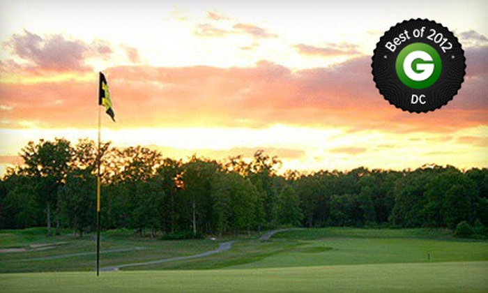 Pleasant Valley Golf Club - Chantilly: 18-Hole Round of Golf for 1, 2, or 4 with Cart, Range Balls, and Lunch at Pleasant Valley Golf Club (Up to 62% Off)