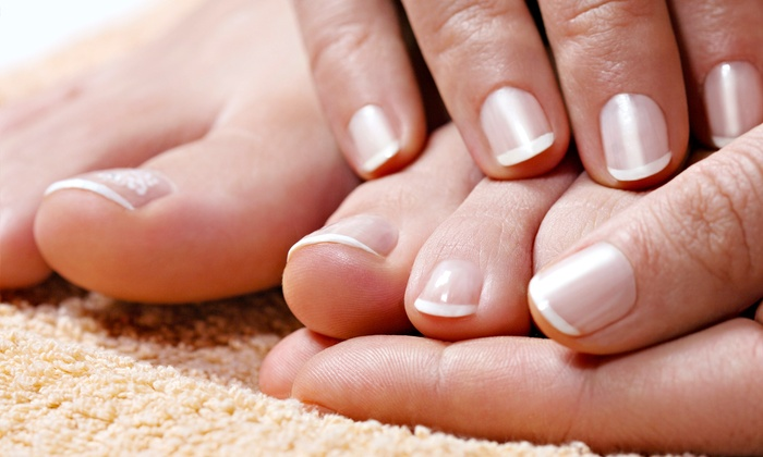 Gabriela Lopez - Midtown: One or Three Regular or Shellac Mani-Pedis from Gabriela Lopez (Up to 55% Off)