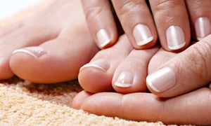 Your Touch of Beauty: No-Chip Mani with Specialty Pedicure or Pomegranate-and-Fig Mani-Pedicure at Your Touch of Beauty (55% Off)