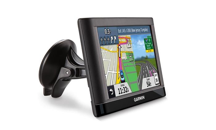 Garmin GPS with Lifetime Updates   Groupon Goods on garmin nuvi 50lm, garmin lifetime map update code, garmin nuvi 1450 gps, garmin motorcycle gps,