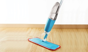 Spray Mop with Reusable Microfiber Pad