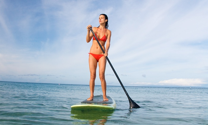 Gulfside Paddleboards - Sarasota Beach: Paddleboard Lesson with Rental Options from Gulfside Paddleboards (Up to 65% Off)