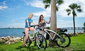 Venice Beach Electric Bike Rentals: Electric-Bike Rental or Beach-Cruiser Rental from Venice Beach Electric Bike Rentals (Up to 66% Off)