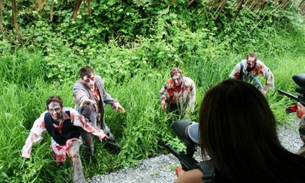 Zombie Paintball Safari and Flashlight Corn Maze for Two or Six at Odyssey Fun Farm (Up to 46% Off)