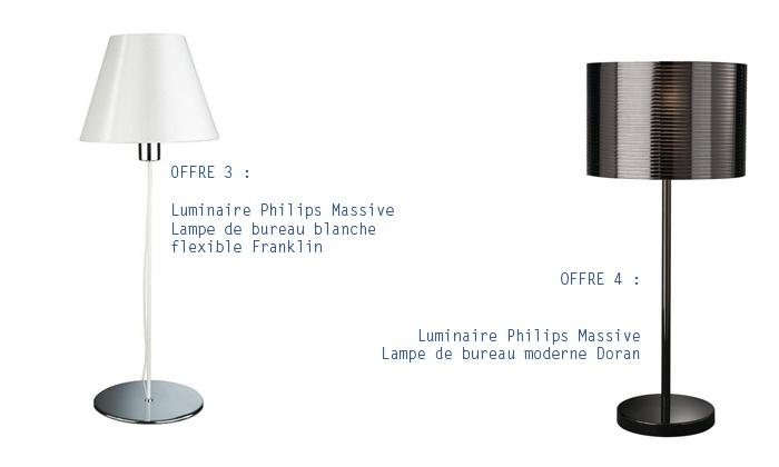 luminaires philips groupon shopping. Black Bedroom Furniture Sets. Home Design Ideas