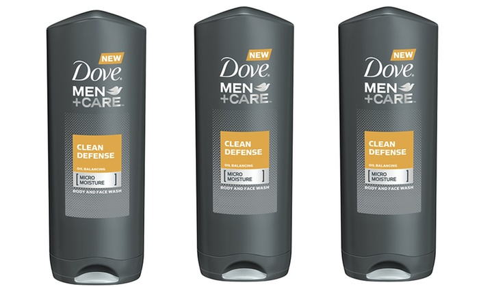 Dove Men+Care Body Wash (3-Pack): 3-Pack Dove Men+Care Body and Face Wash
