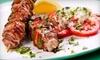 Caspian Cafe - Holland Park: $25 for $40 Worth of Mediterranean Dinner Cuisine at Caspian Cafe