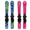 Lucky Bums Kids' Beginner Snow Skis and Poles