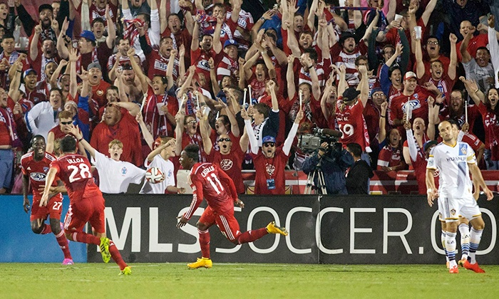 FC Dallas - Toyota Stadium: FC Dallas Match at Toyota Stadium on Friday, May 15 (Up to 46% Off)