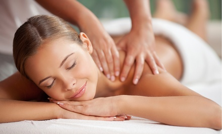 One or Two 60-Minute Massages at Angey's Tangles (Up to 58% Off)