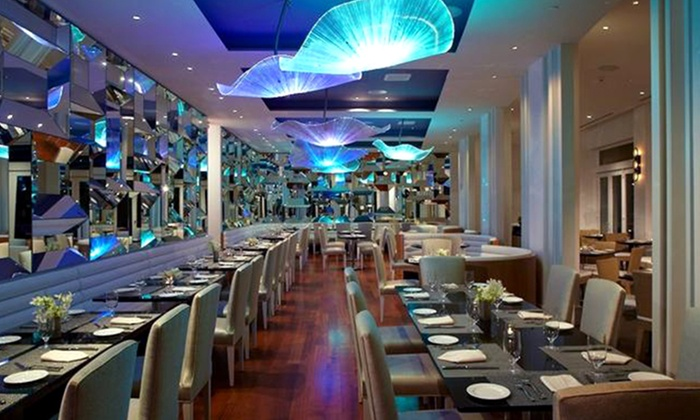 Up To 45 Off Gourmet Seafood Cuisine At Atlantica Restaurant