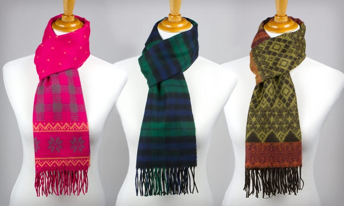 D&Y Softer than Cashmere Scarf: $15 for a David & Young Softer than Cashmere Scarf ($30 List Price). 18 Styles Available. Free Returns.