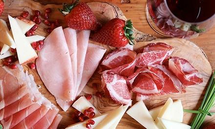 ⏰ Degustazione con vino e tagliere