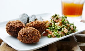 Falafel Corner: Mediterranean and American Food for Two or Four or More or Carryout at Falafel Corner (Up to 22% Off)