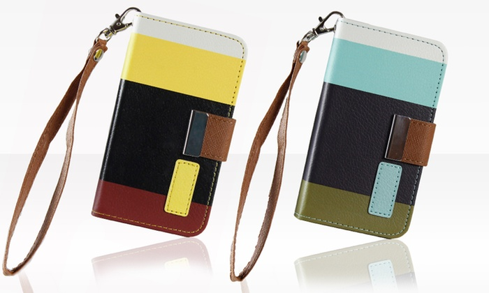 Wallet Case for iPhone 4/4S or 5: Wallet Case for iPhone 4/4S or 5. Multiple Colors Available. Free Returns.