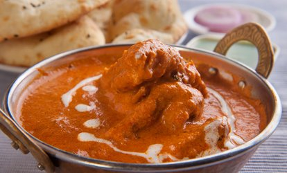 Two-Course Indian Meal with Rice or Naan for Two or Four at Royal Virundhu (Up to 38% Off)