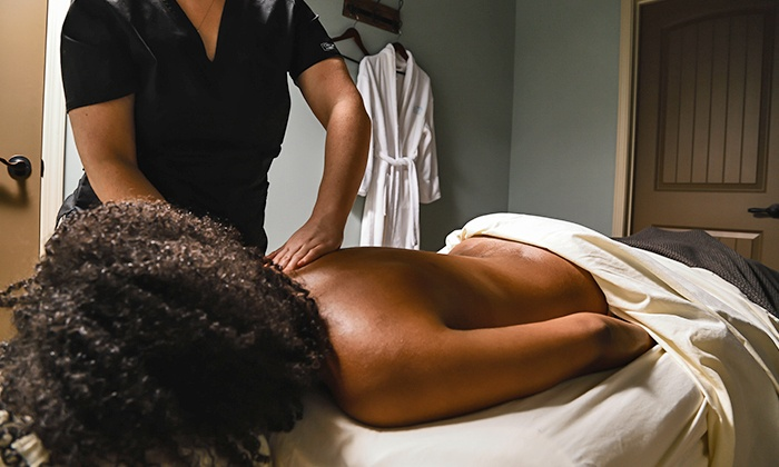 Halcyon Day Spa - Atlanta: 60-Minute Custom Massage, 60-Minute Custom Facial, or Both at Halcyon Day Spa (Up to 50% Off)