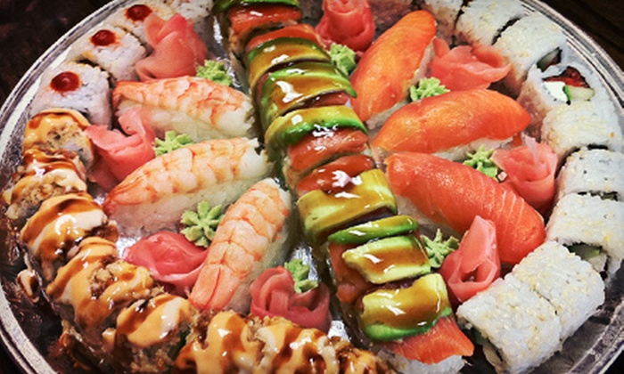 Adora Sushi And More - LaSalle: $15 for $30 Worth of Sushi, Sandwiches, and Smoothies at Adora Sushi And More