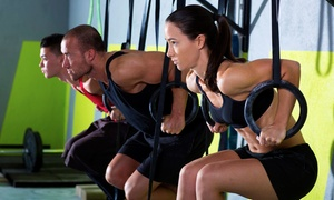 CrossFit Bullpen: Six-Session CrossFit Foundations Class or Month of Unlimited Classes at CrossFit Bullpen (Up to 81% Off)