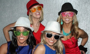 CandidShots4u: $599 for Four-Hour Photo-Booth Rental with Unlimited Photo Strips from CandidShots4u ($1,200 Value)