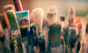 Brushstrokes and Beverages: $20 for a Two-Hour Painting Class for One from Brushstrokes and Beverages (Up to $45 Value)