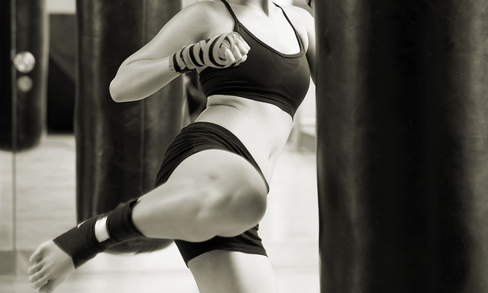 1144 Athletics - Alpharetta: Boxing or Kickboxing Classes at 1144 Athletics (Up to 85% Off). Two Options Available.