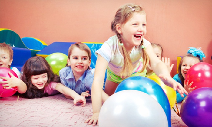 Bonkerz Party Zone - West Yarmouth: 5 or 10 Groupons, Each Good for One Kid's Open-Play Admission at Bonkerz Party Zone (Up to Half Off)