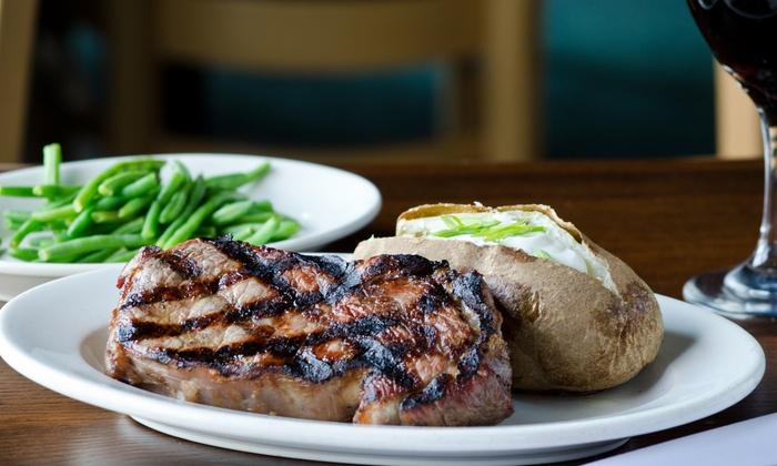 Steak Loft - Mystic: $28 for $50 Worth of Steakhouse Cuisine for Two or More at Steak Loft
