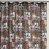 Jungle Patchwork Peva Shower Curtain
