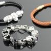 Blackjack Men's Skull Bracelets