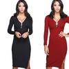 Jade and Juliet Alexa Women's Zipper-Front Dress