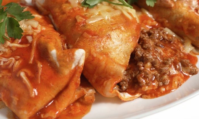 Bandido's Mexican Café - Multiple Locations: Mexican Fare for Lunch or Dinner at Bandido's Mexican café (Up to 50% Off). Two Options Available.