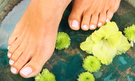 $35 for an Invigorating Nu-Skin Organic Pedicure at W Nails & Spa ($60 Value)