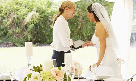 Cours en ligne d'organisation de mariage ou cours avancés de wedding management dès 59 € (jusqu'à 89 % de réduction)