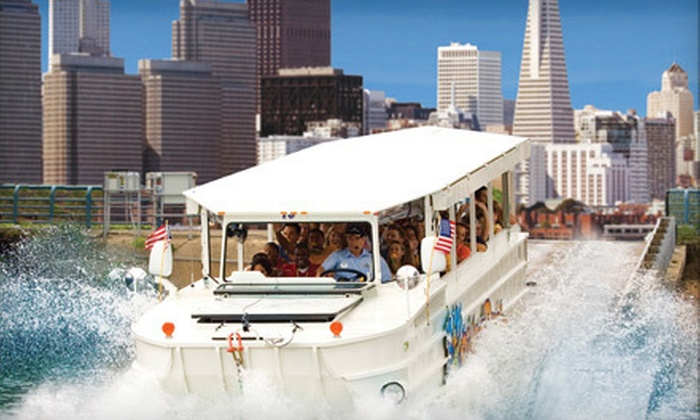 Ride The Ducks - Fisherman's Wharf: $34 for an Amphibious City Tour for Two from Ride The Ducks (Up to $68 Value)