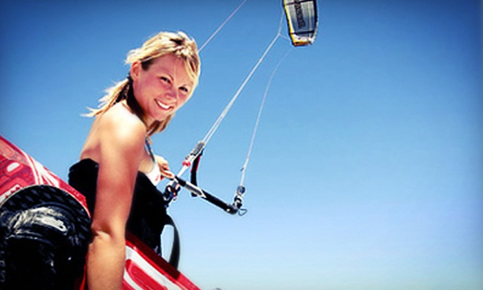 WaterSports Miami - Miami Beach Marina: $49 for a One-Hour Group Kiteboarding Lesson from WaterSports Miami ($99 Value)