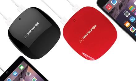 SoundLogic XT 6,000 mAh Samsung-Powered Rapid Charging Dual-Port Power Bank