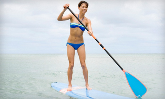 The Board Surf and Skate Shop - The Board Surf and Skate Shop: Half-Day Paddleboard Rental for One, Two, or Four at The Board Surf and Skate Shop in Beaver Falls (Up to 53% Off)