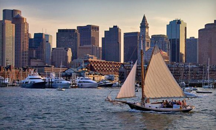 Come Sail Away Now - Fan Pier: Two-Hour Traditional Sailing Adventure on Boston Harbor for One, Two, or Four from Come Sail Away Now (Up to 61% Off)