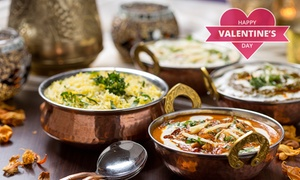 Mother India: Valentine's Day Indian Punjab Three-Course Lunch for Two for R140 at Mother India (50% Off)