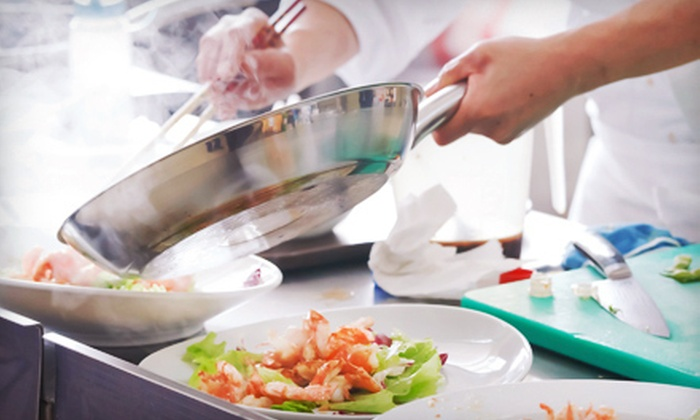 The New Englander Show - Weymouth Landing: In-Home Cooking Class and Dinner Party for Four, Six, or Eight from The New Englander Show (Up to 65% Off)