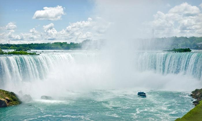 Four Points by Sheraton Niagara Falls - Niagara Falls, New York: 1-Night Stay with $30 Casino Credit and a Bottle of Wine at Four Points by Sheraton Niagara Falls in Niagara Falls, NY