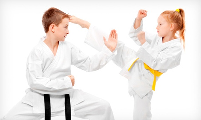 Martial Arts America - Multiple Locations: $39 for Eight Kids' Classes with Uniform and Belt for Ages 4–12 at Martial Arts America ($149 Value)