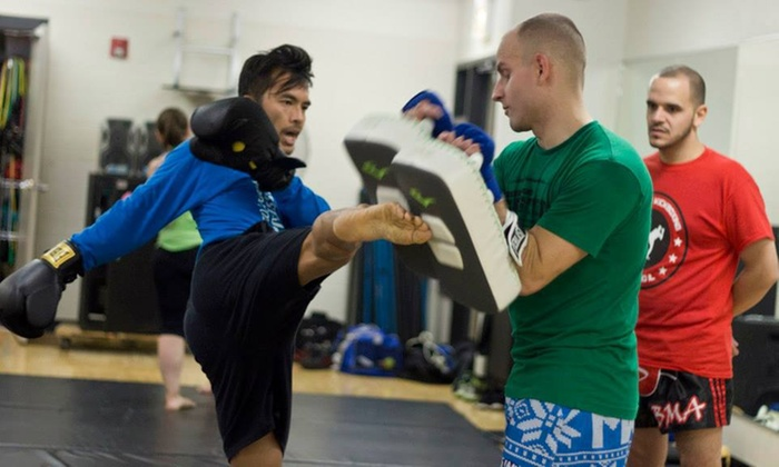Dynamite Kickboxing - West Town: $30 for $100 Worth of Boxing Lessons — Dynamite Kickboxing