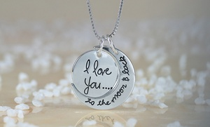 Monogramhub.com: $5 for an I Love You to The Moon & Back Necklace from Monogramhub.com ($44.99 Value)