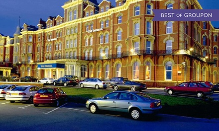 Blackpool: 1 or 2 Nights for Two with Breakfast, Dinner, Wine, Leisure Club Access, and Late CheckOut at Imperial Hotel